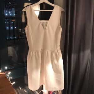 White dress - French brand comptoir des cotonniers